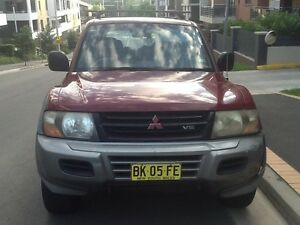 2002 Mitsubishi Pajero Wagon Ryde Ryde Area Preview