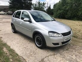 VAUXHALL CORSA DESGIN * ONE YEAR MOT *LOW TAX & INSURANCE * AIR CONDITIONING *READY TO DRIVE AWAY *