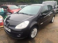 ** NEWTON CARS ** 07 57 RENAULT CLIO 1.2 RIP CURL, 3 DOOR, GOOD OVERALL, MOT JAN 2017, P/EX POSS