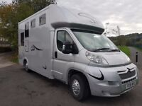 08 Citroen relay 2.2 hdi weekender 3.5 ton horsebox ready for work great truck very clen throughout