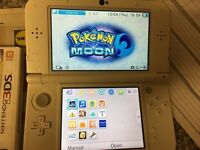 Like New 3DS XL (New 2016 Edition) With pokemon moon
