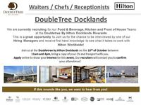 F&B, Kitchen and Front of House - Doubletree By Hilton Docklands Riverside - 10th of October