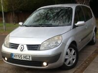 Renault Grand Scenic 7seater LOW MILAGE 12months mot 2005reg MK 1 1.9 dCi FAP Dynamique