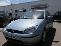 2003 FORD FOCUS 1.6 ZETEC AUTOMATIC MOT 3 DOORHATCH VERY ECONOMICAL