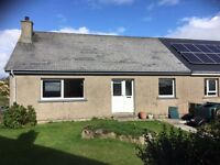 3 BEDROOM HOUSE - FLOTTA - BEAUTIFUL SEA VIEWS