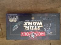 Reduced Star Wars monopoly brand new and sealed