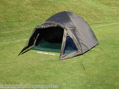 2 Man Double Skin Q DOS Green Carp Fishing Bivvy Tent Shelter Waterproof Tackle