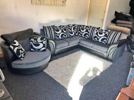 🌞BEST QUALITY SOFA OF UK 🌞BRAND NEW SHANNON CORNER SOFA AND 3+2 SEATER SOFA IN STOCK..🚛🌞