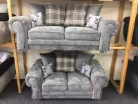 BRAND NEW VERONA CHESTERFIELD CORNER 3+2 SEATER SOFA AVAIALABLE IN STOCK