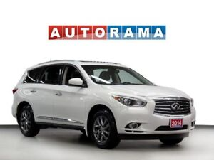 2014 Infiniti QX60 NAVIGATION DVD 360 CAM LEATHER SUNROOF 7 PASS