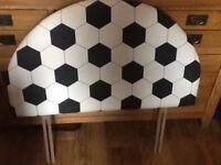 Football headboard for single bed