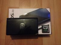 Navy Blue Nintendo DS Lite + Games For Sale £50