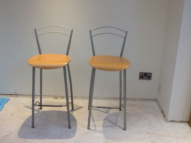 Astonishing Two John Lewis Kitchen Bar Stools In Norwich Norfolk Gumtree Gmtry Best Dining Table And Chair Ideas Images Gmtryco