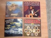 6 Lp's country singers