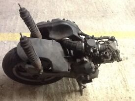 Vespa gt 125 cc windscreen and many parts for sale.