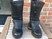 Riossi biker boots size 7