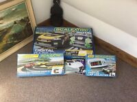 Digital scalextric big track and accessories
