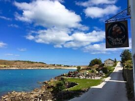 Sous Chef - Live In - Pub, Isles of Scilly, Cornwall - Spring Summer 2017 - Couples Welcome