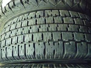 2 pneus d'hiver 195/70/14 Nordic Wintertrac