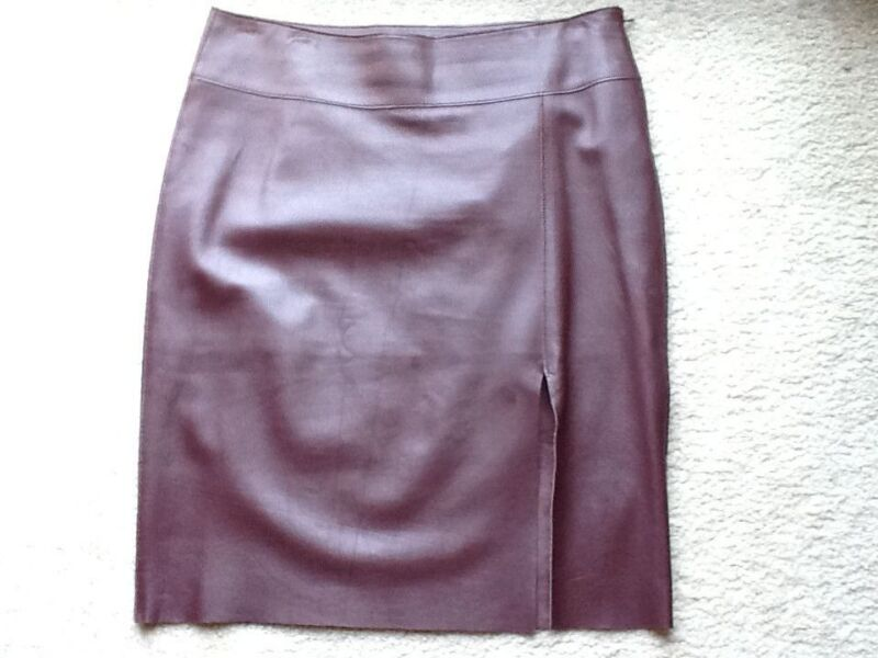Guess Collection leather Skirt 10 marciano jean dress