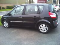 54 PLATE RENAULT SCENIC MEGANE AND 1.5 DIESEL, ONLY £30 ROAD TAX A YEAR, WITH LONG 1 YEAR MOT,
