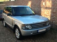 RANGE ROVER VOGUE 4.4 2002 SILVER LPG CONVERSION £5900 iF SOLD BY AUG 30th