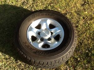 LandCruiser 70 series GXL Wheel and Tyre Birkdale Redland Area Preview