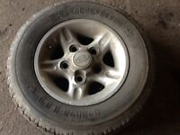 Landrover Series, Discovery 1, Defender, Range Rover Classic Alloy Wheels.