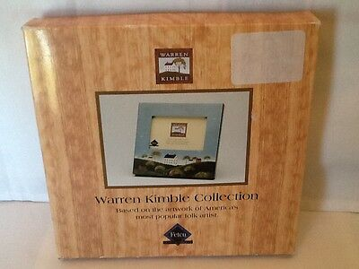 Warren Kimble Picture - Warren Kimble Collection COUNTRYSIDE Picture Photo Frame Folk Art Homes Church