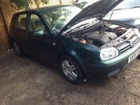 VOLKSWAGEN GOLF Car Parts for sale any part avilable Breaking for parts