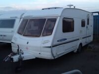2004 abbey freestyle 520se /4 berth end changing room with fitted mover