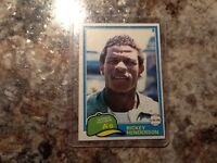 Baseball cards - each sold separately