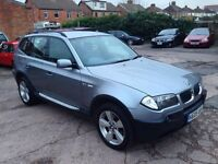 2005 05 Reg BMW X3 3.0 i Sport, Petrol, Automatic, 231 BHP, 5 Door, Metallic Grey