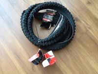 "26"" BIKE TYIERS AND INNER TUBE BRAND NEW NOT USED AT ALL"