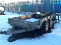 2014 Ifor williams trailer 10/5 ft with back tail lift