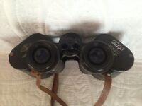 Binoculars TAIYO 10X50 with leather case ,like new.