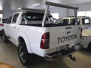 2014 Toyota Hilux 4x4 SR5 Turbo Diesel Auto Dual Cab Ute 80ks Eagle Farm Brisbane North East Preview