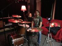 Drummer available for live & studio sessions