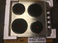 New Electric Hob Lamona Stainless Steel