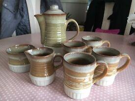 Bramstone Stoneware Coffee Set