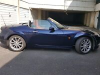 Mazda Automatic Convertible sports car. West London