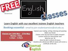 Free English Classes with Trainee Teachers - Afternoon 2 weeks Melbourne CBD Melbourne City Preview