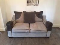DFS 2+3 SEATER GREY FABRIC £350 ONO