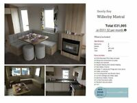 Brand New Static Caravan For Sale, Not Eyemouth, Not Haven, Finance Available, Call Darren