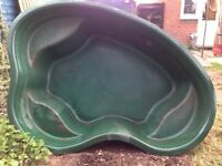 Large fibreglass pond