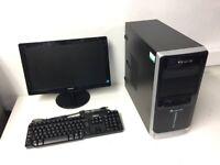 Gaming Computer PC Setup with Monitor (Intel i5 3470, 8GB RAM, 1TBHD, HD 6670 Graphics)