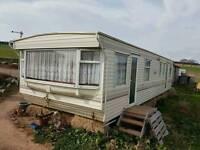 Static caravan 3 bed off site