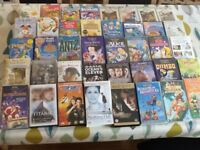 40 vhs tapes including many children's videos