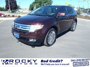 Ford Edge Limited - MORE SUVS FOR BAD CREDIT @ ROCKYMOTORS.COM