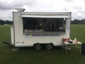 Event catering trailer